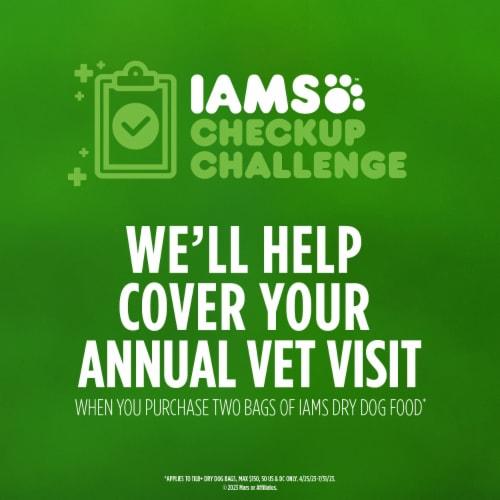IAMS™ ProActive Health Minichunks Chicken Dry Dog Food Perspective: back