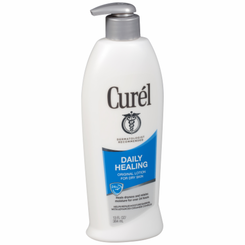 Curel Daily Healing Original Dry Skin Lotion Perspective: back
