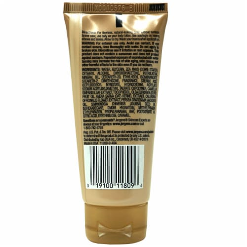 Jergens Natural Glow Fair to Medium Daily Moisturizer Perspective: back