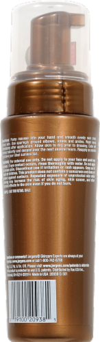 Jergens Natural Glow Deep Bronze Instant Sun Moisturizing Mousse Perspective: back