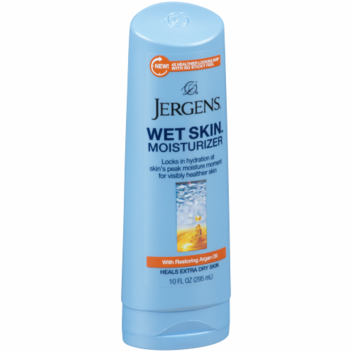 Jergens Wet Skin Moisturizer with Restoring Argan Oil Perspective: back