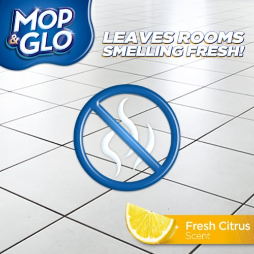Mop & Glo Multi-Surface Floor Cleaner Perspective: back