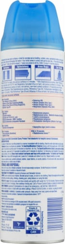 Lysol® Lavender Fields Disinfectant Mist Perspective: back