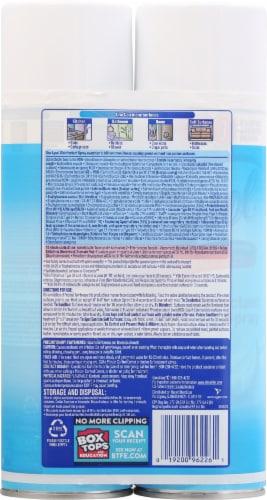 Lysol Crisp Linen Scent Disinfecting Spray Perspective: back