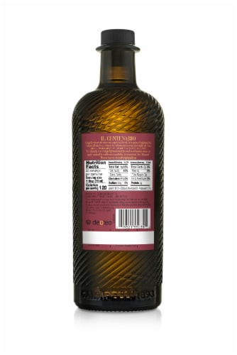 Carapelli Il Centenario Extra Virgin Olive Oil Perspective: back