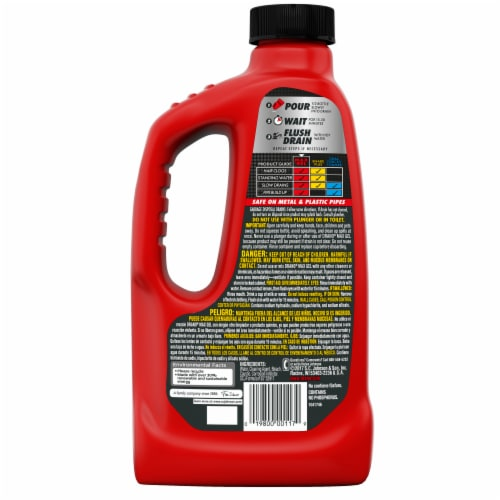 Drano Max Gel Clog Remover Perspective: back