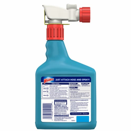 Windex Outdoor Multi-Surface Concentrated Cleaner Perspective: back