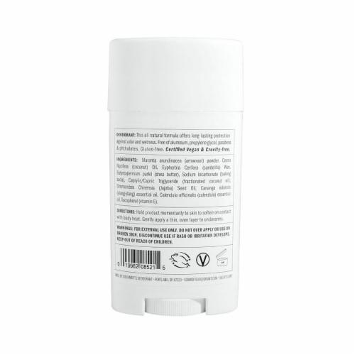 Schmidt's Ylang-Ylang and Calendula Natural Deodorant Perspective: back