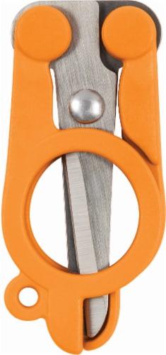 Fiskars® Folding Scissors - Orange Perspective: back