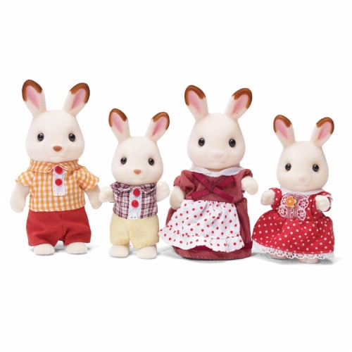 Calico Critters Hopscotch Rabbit Family Perspective: back