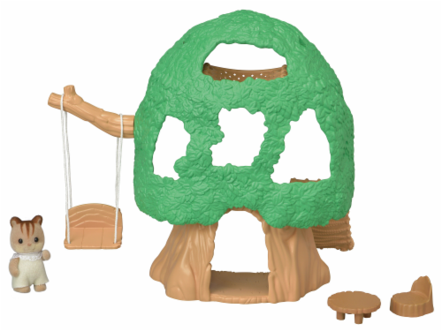 Calico Critters Baby Treehouse Play Set Perspective: back