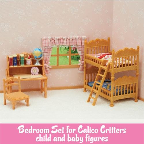 Calico Critters Children's Bedroom Set Perspective: back