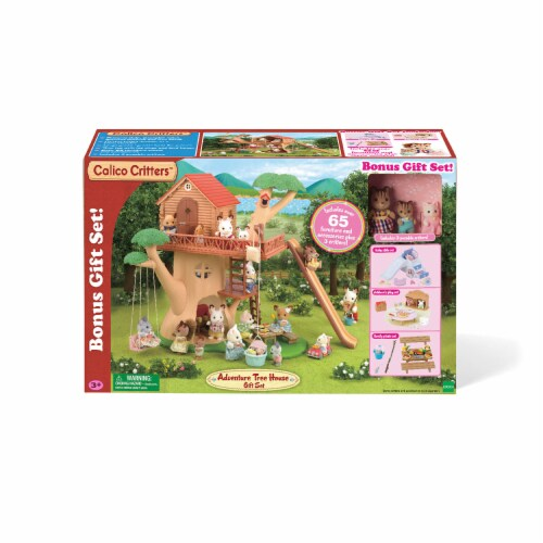 Calico Critters Adventure Treehouse Gift Set Perspective: back