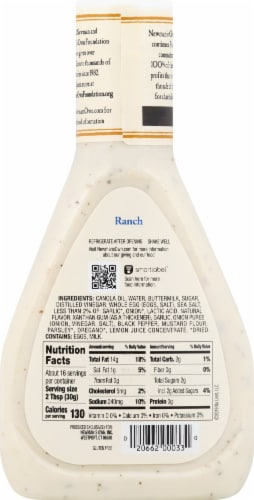 Newman's Own Ranch Dressing Perspective: back