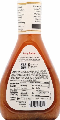 Newman's Own Zesty Italian Dressing Perspective: back