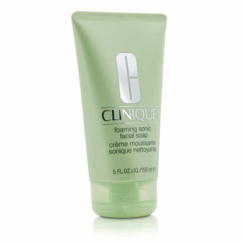 Clinique Foaming Sonic Facial Soap 5 oz Perspective: back