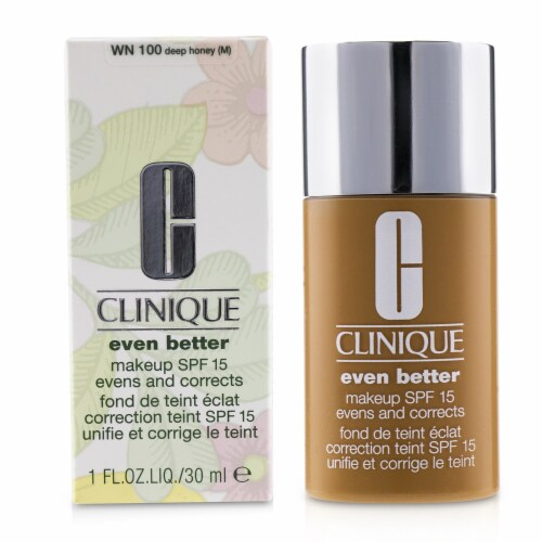 Clinique Even Better Makeup SPF15 (Dry Combination to Combination Oily)  WN 100 Deep Honey 30 Perspective: back