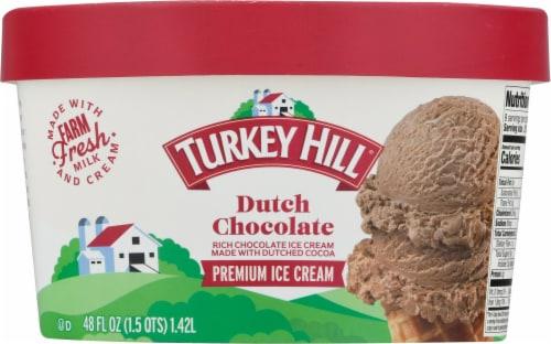 Turkey Hill® Dutch Chocolate Ice Cream Perspective: back