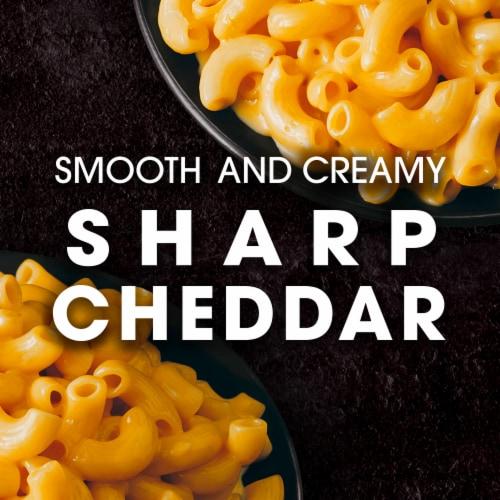 Cracker Barrel Sharp Cheddar Macaroni & Cheese Dinner Perspective: back