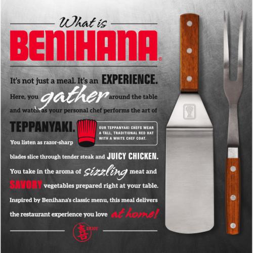 Benihana Yakisoba Steak Frozen Meal Perspective: back