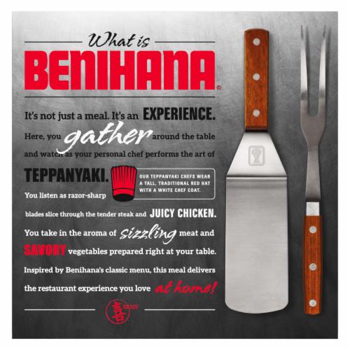 Benihana Rocky's Choice Frozen Meal Perspective: back