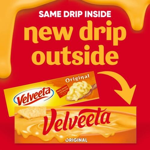 Velveeta Original Cheese Product Perspective: back