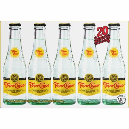 Topo Chico Mineral Water 20 Bottles 6 5 Fl Oz Qfc