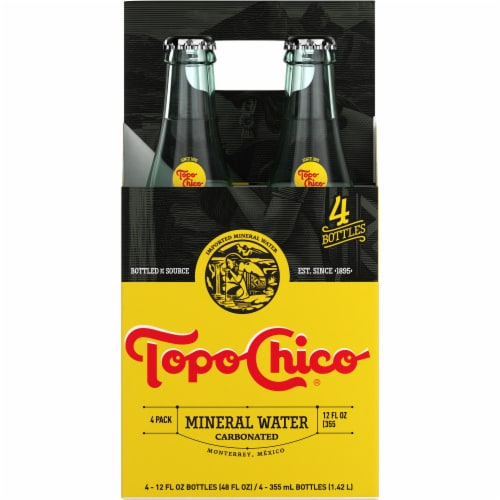 Topo Chico Mineral Water Perspective: back