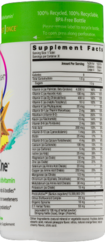 Rainbow Light Kids' One Multivitamin Gluten Free Tablets Perspective: back
