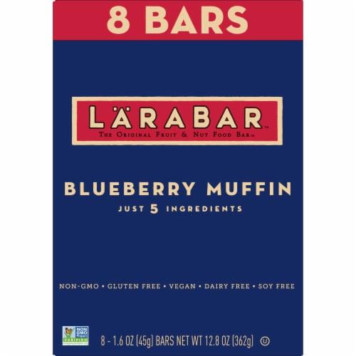 Larabar Blueberry Muffin Fruit & Nut Bars Perspective: back