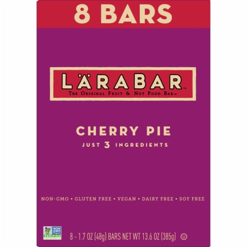 Larabar Cherry Pie Fruit & Nut Bars 8 Count Perspective: back