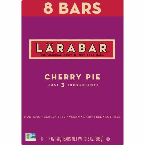 Larabar Cherry Pie Fruit & Nut Bars Perspective: back