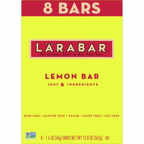 Larabar Lemon Fruit & Nut Bars Perspective: back