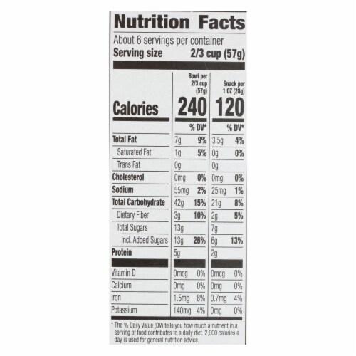 Cascadian Farm Organic Granola - French Vanilla Almond - Case of 6 - 13 oz. Perspective: back