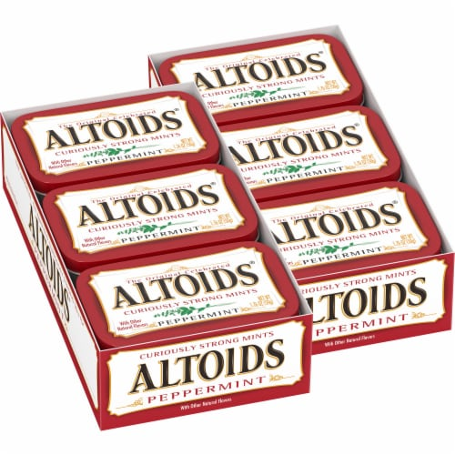 Altoids Peppermint Mints Perspective: back