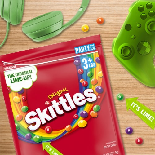 SKITTLES Original Chewy Candy Party Size Perspective: back