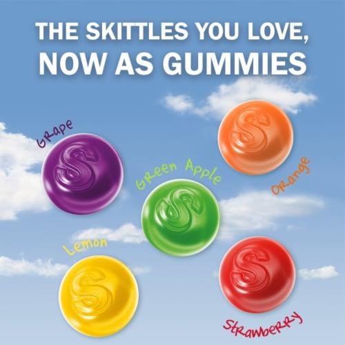 Skittles Original Gummy Candy Bag Perspective: back