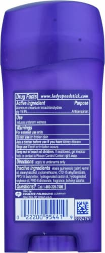 Lady Speed Stick® Shower Fresh Invisible Dry® Antiperspirant & Deodorant Perspective: back
