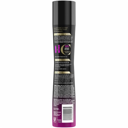 TRESemme Compressed Smooth Level 2 Hold Hair Spray Perspective: back