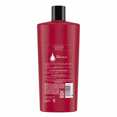 TRESemme Keratin Smooth Color Shampoo Perspective: back
