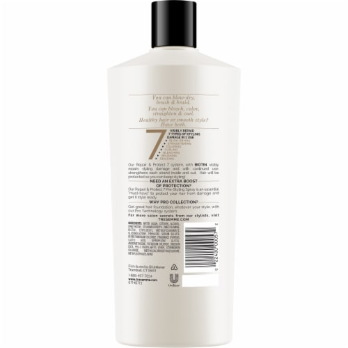 TRESemme Repair & Protect 7 with Biotin Conditioner Perspective: back