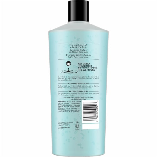 TRESemme Thick & Full Pro Collection Shampoo Perspective: back