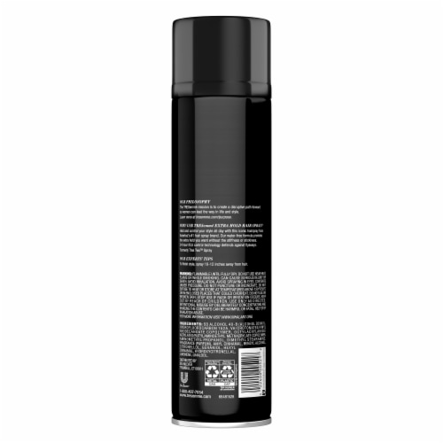 TRESemme Tres Two Extra Hold Hair Spray Perspective: back