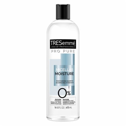 TRESemme Pro Pure Moisture Shampoo Perspective: back