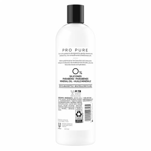 Tresemme Pro Pure Curl Define Conditioner Perspective: back