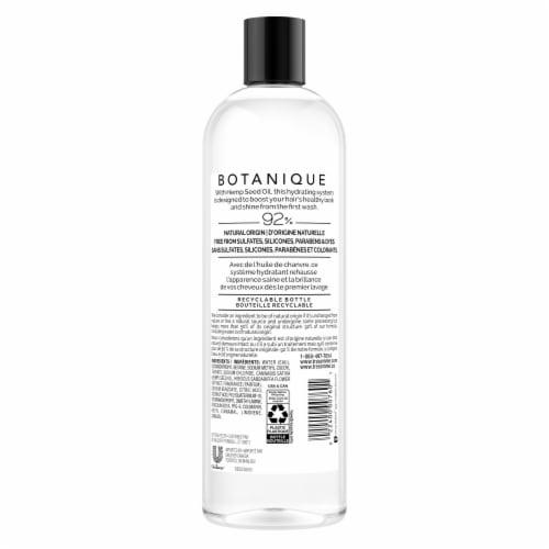 TRESemme Botanique Hemp Hydration Sulfate Free Shampoo Perspective: back