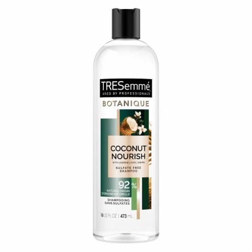 TRESemme Botanique Coconut Nourish Shampoo Sulfate Free Perspective: back