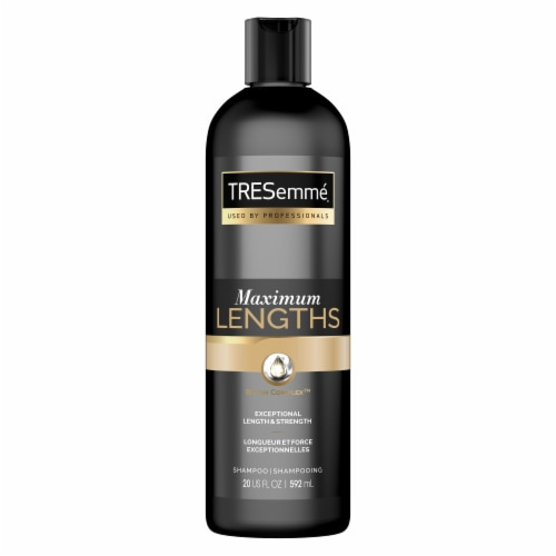 TRESemme Pro Advanced Max Lengths Shampoo Perspective: back