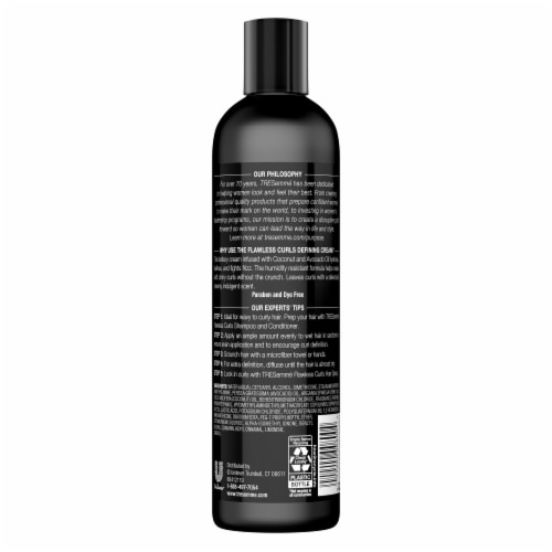 TRESemmé® Flawless Curls Defining Cream for Curly Hair & Frizz Control Perspective: back