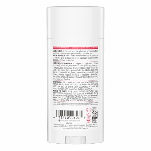 Schmidt's Coconut & Kaolin Clay Natural Deodorant Perspective: back